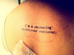 Sobriety And Recovery Tattoos