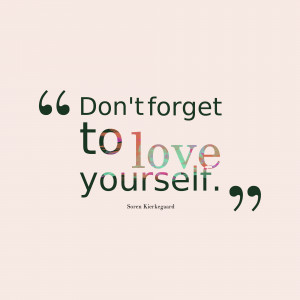 Love yourself quotes