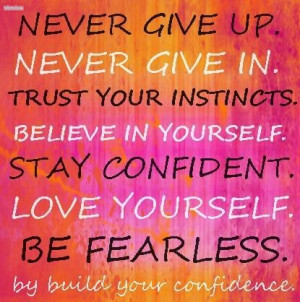 Build Your Confidence quotes
