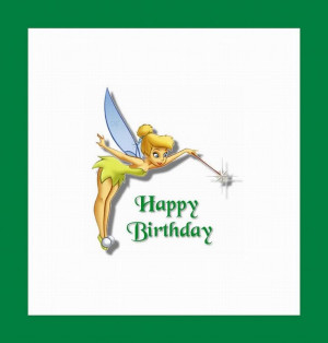 Tinkerbell Birthday Cards