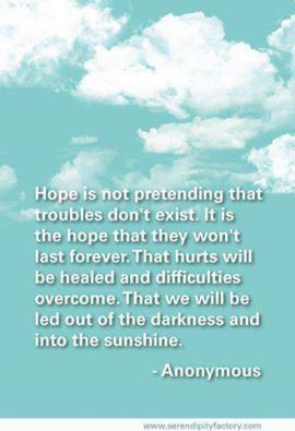 Hope Is For The Future