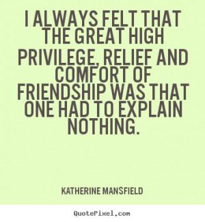 Quote Katherine Mansfield