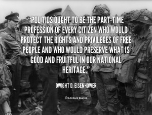 General Dwight D Eisenhower Quotes