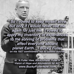Buckminster Fuller, Bucky Fuller, Livingry, A Fuller View, Spaceship ...