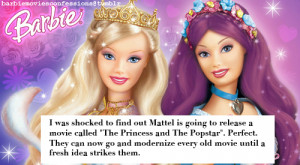 was shocked to find out Mattel is going to release a movie called ...