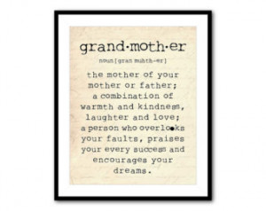 Grandmother Art Work Inspirational Quotes