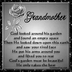 ... Poems In Death | teacher quotes thank you. thank you so much Grandma