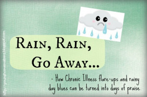 Rainy Weather Quotes I hate rainy days with a