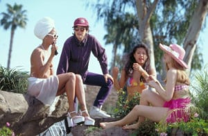 ... Alicia Silverstone, Stacey Dash and Amy Heckerling in Clueless (1995