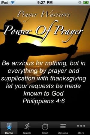 Prayer Warriors - Power of Prayer iPhone App & Review