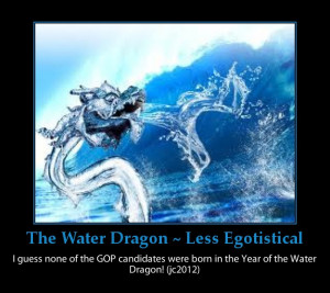 The Water Dragon will be less selfish, egotistical, and imperious.