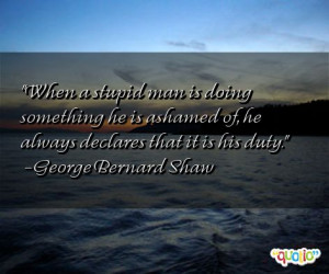 quotes about not being stupid