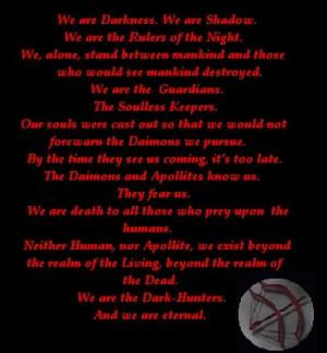 dark-hunter series sherrilyn kenyon dark hunter