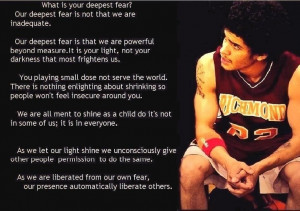 Our Deepest Fear Coach Carter Coach carter quotes