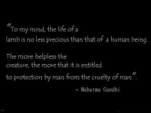 world health day quote by mahatam gandhi
