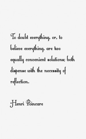 Henri Poincare Quotes amp Sayings