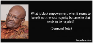 What is black empowerment when it seems to benefit not the vast ...