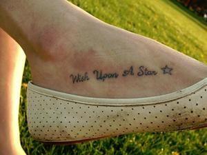25 Refined Foot Tattoos Quotes - Pelfind