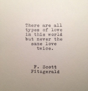 Scott+Fitzgerald+Love+Quote+Made+On+Typewriter+by+farmnflea,+$9.00