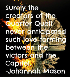Johanna Mason Quote! by wolfstar1999