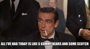 James Bond Archer photo meme Imgur all Ive had today is like 6 gummi ...