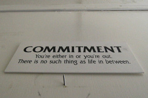 Commitment is the First Step on the Road to Success: