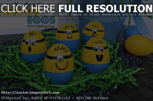 Easter Minions Images High Resolution for Cards