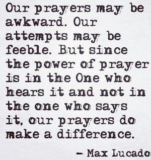 quote from Max Lucado