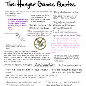 The Hunger Games Quotes - Polyvore