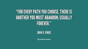 Choose Your Own Path Quotes