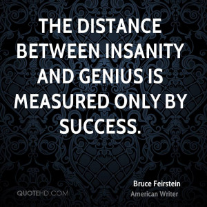 Bruce Feirstein Success Quotes