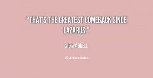 Comeback Quotes Preview quote