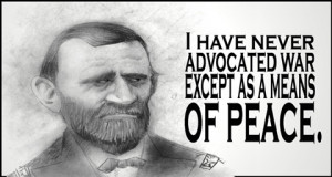and now a word from Ulysses S. Grant...