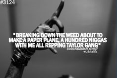 wiz khalifa, Taylor Gang Or Die, #tgod More
