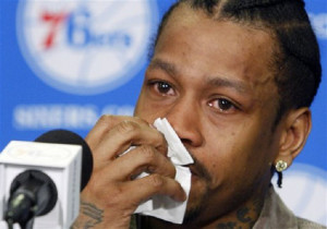 """... Don't Even Have Money For A Cheeseburger!!""""-Allen Iverson"""