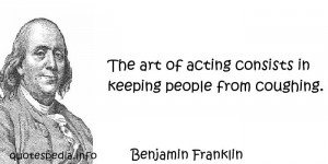 Quotes About Acting Art quotes about acting