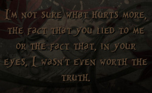You Lied To Me Quotes You Lied to Me Quotes