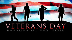 If you know a vet, thank them. If you don't, please say a prayer for ...