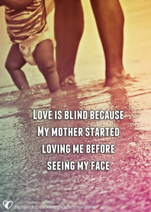 My momma's always loved me :)
