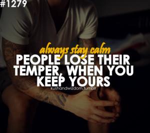 Temper Quotes