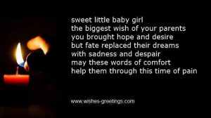 losing baby sister quotes