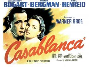 Classic Movies Casablanca movie poster
