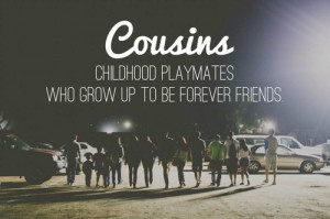Cousins Day Quote Card and Images