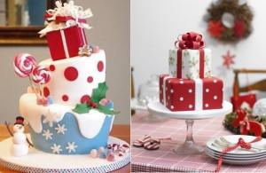 novelty christmas cakes decorating ideas