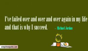 Failure Quotes / Life Quotes / Michael Jordan Quotes / Success Quotes