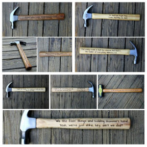 Personalized Hammer Engraved Hammer 5th by rusticcraftdesign, $75.00