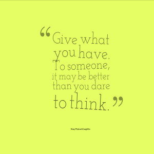 Quotes About Generosity Generosity quotes quotesgeek