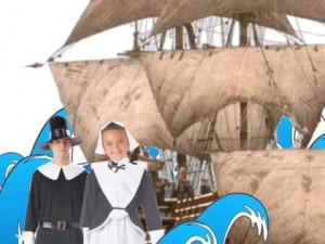 They Were the Pilgrims!M-A-Y-F-L-O-W-E-R… THAT SPELLS MAYFLOWER!!!!!