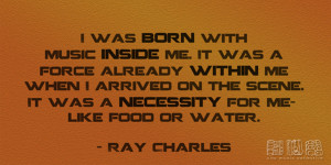 Quotes From Ray Charles