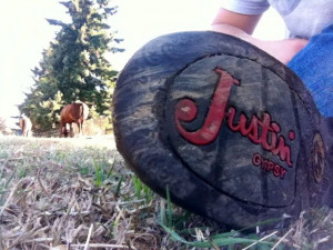 Justin Boots.
